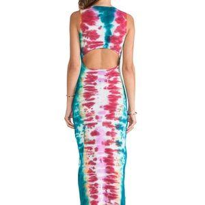 Mara Hoffman- slit back tie dye dress.Amazing fit.